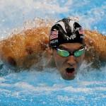 در هشتمين روز از مسابقات ورزشهای آبی المپیک، رقابت هاي شنا با جابجايي ركورد ١٠٠متر آزاد مردان و اضافه شدن يك طلا به مجموع ٢٧مدال مايكل فلپس پرافتخارترين ورزشكار تاريخ المپيك به پايان رسيد.