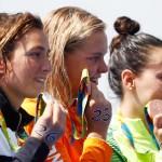 در دهمین روز از آغاز مسابقات ورزشهای آبی المپیک ریو ۲۰۱۶، مدال طلای ماراتن شنای 10 کیلومتر آبهای آزاد زنان به شرون فنرووندال هلندی رسید.