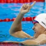 در سومین روز مسابقات ورزشهای آبی المپیک، رقابتها در واترپلو، شیرجه و شنا پیگیری شد و پنج مدال بین سه کشور آمریکا، چین و مجارستان تقسیم شد.