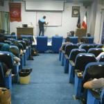 یکدوره کلينيك شنای 5 ساعته ويژه آقايان و بانوان در محل سالن آمفی تئاتر اداره ورزش و جوانان شهرستان مشهد برگزار شد.