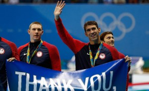 هفت شناگر در جمع 10 ورزشکار برتر المپیک ریو تا پایان روز دهم