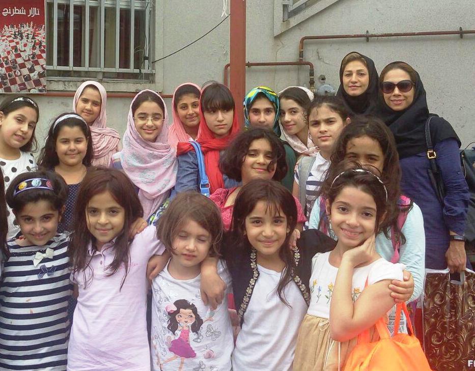 مسابقات شنای قهرمانی دختران استان گیلان