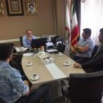 رئیس فدراسیون شنا با اعضای تیم اعزامی هیأت شنا استان تهران قبل از شروع مسابقات جهانی دبی روز گذشته دیدار کرد.