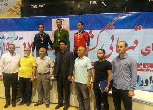مسابقات شنا یادواره باباطاهر به همت هیات تهران برگزار شد