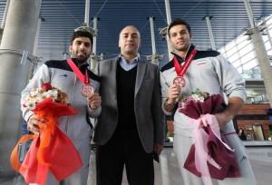 گزارش تصویری_استقبال از کاروان اعزامی به رقابتهای آسیایی
