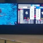 تیم ملی واترپلوی ایران در پنجمین روز از مسابقات واترپلوی قهرمانی آسیا مغلوب ژاپن شد.