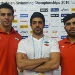 تیم ملی شیرجه ایران با کسب مقام سومی در مسابقات قهرمانی آسیا تاریخ ساز شد.