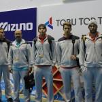 ملیپوشان شناگر جوان ایران در ششمین روز مسابقات قهرمانی آسیا 2 رکورد کشور را جابهجا کردند.
