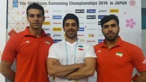پایان کار شناگران و شیرجه روهای ایران در قهرمانی آسیا