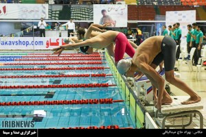 گزارش تصویری_ مرحله دوم مسابقات قهرمانی شنای کشور