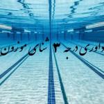 نتایج آزمون دوره داوری درجه 3 شنای موزون (آذر-دی ماه ۱۳۹۵) اعلام شد.