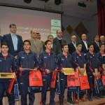 روز گذشته (سه شنبه) در مراسمی باحضور استاندار یزد و رئیس فدراسیون شنا  از قهرمانان شنا و واترپلو استان یزد تقدیر شد.