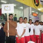 مراسم افتتاحیه مسابقات بین المللی شنای جام فجر زنده رود اصفهان روز گذشته (پنجشنبه) در استخر انقلاب اصفهان برگزار شد.