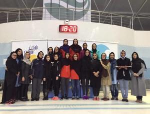 گزارش تصویری_مسابقات شنا مسافت کوتاه بانوان در کیش(2)