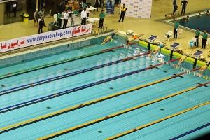 آغاز مرحله سوم لیگ شنا از پنجشنبه + استارت لیست