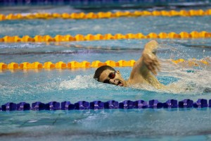 رکوردگیری شنا از شناگران در ردههای سنی مختلف