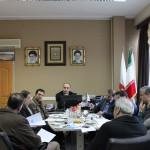 جلسهای با حضور رئیس و اعضای هیت رئیسه فدراسیون به همراه رواسای هشت هیات شنای استانی در محل فدراسیون شنا برگزار شد.