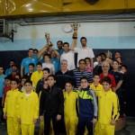 تیم دلفین آبی مشهد در اولین دوره مسابقات شنای لیگ نوجوانان خراسان رضوی به قهرمانی دست یافت.