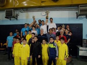 قهرمانی دلفین آبی در مسابقات شنا نوجوانان خراسان رضوی