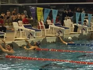 مسابقات شنای بزرگسالان یادواره قهرمانان شهدای غواص و آتشنشان