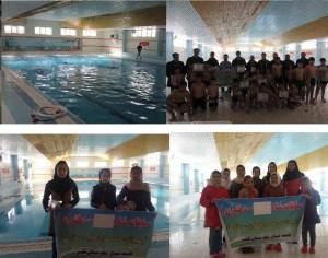 مسابقات شنا گرامیداشت دهه فجر کلیبر آذربایجان شرقی