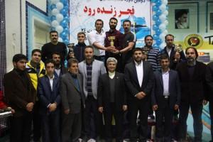 پایان مسابقات بین المللی شنای فجر زنده رود با قهرمانی تهران و اصفهان