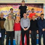 سهند الف و ب قهرمان تیمی لیگ شیرجه قهرمانی باشگاههای آذربایجانشرقی شدند.