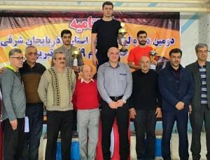 مرحله نهایی لیگ شیرجه قهرمانی باشگاههای آذربایجانشرقی