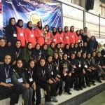 موج ايرانيان الف قهرمان مسابقات لیگ واترپلو بانوان باشگاههای کشور رده سنی 11-14 سال ۱۳۹۵ شد.