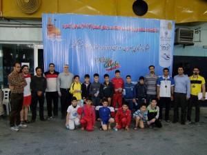 گزارش تصویری_جشنواره شنا زیر 10 سال منطقه ۶ کشور در مشهد