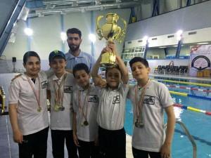 گزارش تصویری_جشنواره شنا زیر ۱۰ سال منطقه 5 کشور در کرمان