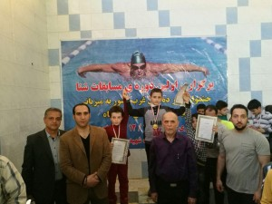 جشنواره شنای زیر ۱۰ سال پسران منطقه 3 کشور در کرمانشاه