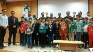جشنواره شنای زیر ۱۰ سال پسران منطقه 1 کشور در زنجان