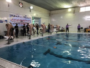 نتایج مرحله نخست مسابقات لیگ شنای استان البرز
