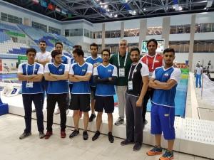 گزارش تصویری_تیم ملی شنا اعزامی به مسابقات مسافت کوتاه ترکمنستان