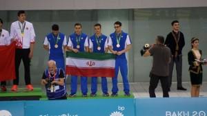 گزارش تصویری_ روز نخست مسابقات شنا بازیهای کشورهای اسلامی