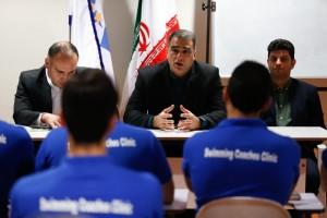 گزارش تصویری_ اختتامیه کلینیک بین المللی مربیگری شنا