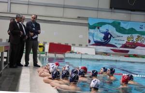 بازدید مسئولان کمیته ملی المپیک از اردوی تیمهای ملی شیرجه و واترپلو