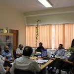 جلسه کمیته فنی شنا با  مربیان پایگاههای ملی شنا امروز سهشنبه(10 خرداد 1396) در محل سالن جلسات فدراسیون شنا برگزار شد.