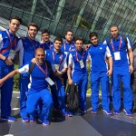 تیم ملی شنا و واترپلو کشورمان وارد باکو محل برگزاری چهارمین دوره بازیهای همبستگی کشورهای اسلامی شدند.