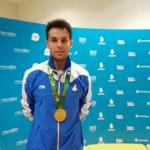 شهنام نطرپور در سومین روز رقابت هاى شيرجه بازي هاى كشورهاى اسلامى موفق به كسب مدال برنز سکوی 10 متر انفرادى شد.