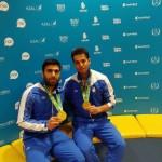 با درخشش شیرجه روهای ایران طلای ماده سکوی 10 متر  دو نفره را کسب کردند.