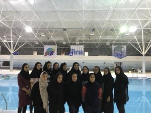 گزارش تصویری_اردو تیم ملی شنا بانوان در جزیره کیش