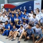 تیم ملی واترپلو ایران در دیدار نهایی تورنومنت چهارجانبه سنگاپور با پیروزی در ضربات پنالتی مقابل صربستان قهرمان این رقابت ها شد.