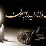 فدراسیون شنا در پیامی درگذشت مادر گرامى همسر مالک قاطع رئیس هیات شنا  اهواز و از داوران و پیشکسوتان شنا و واترپلوی استان خوزستان و کشور را تسلیت گفت.