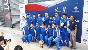 تیم ملی واترپلو ایران با پیروزی در ضربات پنالتی مقابل صربستان در تورنومنت چهارجانبه سنگاپور قهرمان این رقابتها شد.