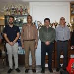 دبیرکل فدراسیون شنا، شیرجه و واترپلو از هیات شنای استان اصفهان بازدید کرد.