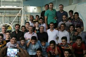 استخر ۲۹ بهمن قهرمان مسابقات واترپلو جام رمضان آذربایجان شرقی شد