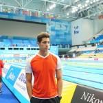 مهدی انصاری تنها نماینده شنای ایران در رقابتهای قهرمانی جهان  با ثبت رکورد 25:02 در مرحله مقدماتی ماده 50 متر پروانه به کار خود پایان داد.