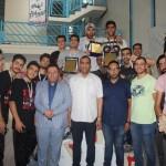 مسابقات واترپلوی استان اصفهان با قهرمانی تیم آکادمی خوشبخت به پایان رسید،